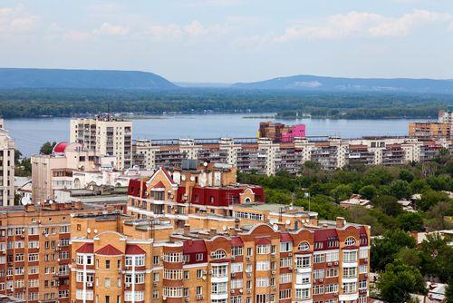 Samara, Russia in May 2012