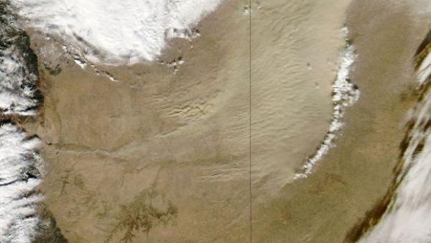 Colorado Kansas Dust Storm Jan 2013