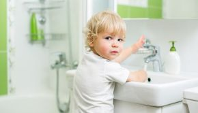 Child Hand Washing