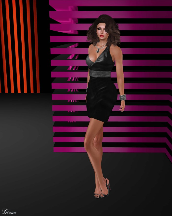 Baiastice - Elena Dress-black