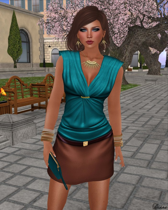 GizzA - Anne Marie Outfit Teal