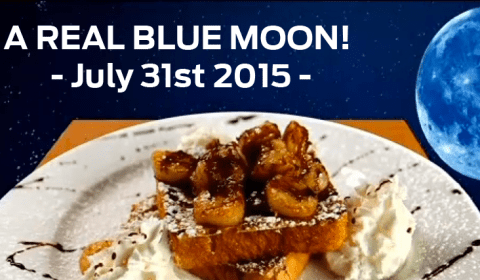 Real Blue Moon this July (July 31, 2015)
