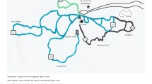 Ski Trail Map