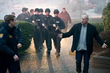 Uwe Boll on set of Capital Punishment