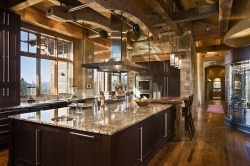 Sweet Rooms Kitchens Luxury Mountain Homesblue Ribbon Builders Rustic Home Kitchen Decor Rustic Home Kitchens
