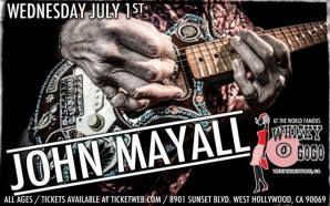John Mayall exclusive for Blues-E-News