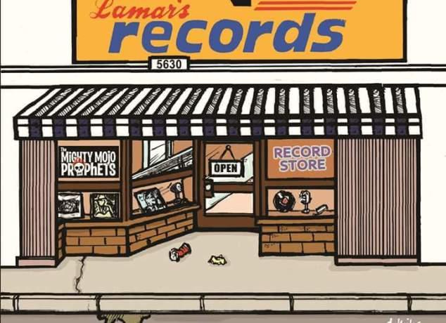 The Mighty Mojo Prophets - 'Record Store' artwork: San Pedro Slim