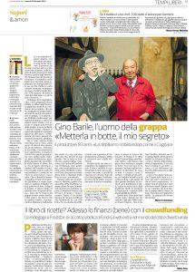 articolo Cremonesi CORRIERE Luigi Barile Chi l'avrebbe mai detto?