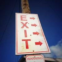 Exit Arrows | Blurbomat.com