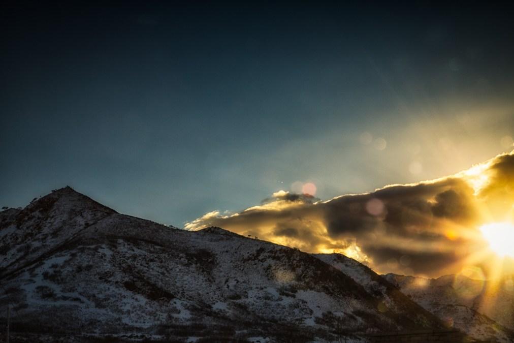 Bokeh Sunrise