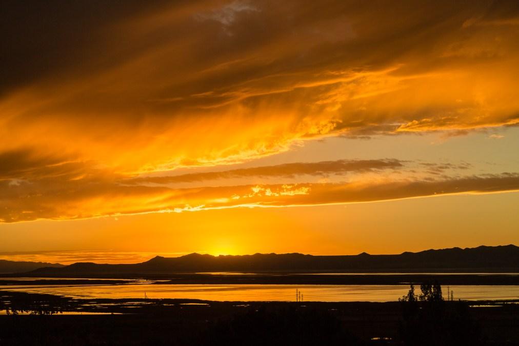 Another Autumn Great Salt Lake Sunset