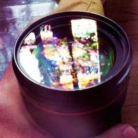 Stained Glass Lens