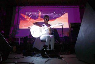 Kaki King @ Sunstock Solar Festival at The Autry 6/18/16. Photo by Derrick K. Lee, Esq. (@Methodman13)