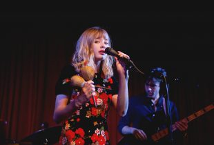 Alexandra Savior at Hotel Cafe 8/10/16. Photo by Michelle Shiers (@MichelleShiers) for www.BlurredCulture.com.