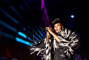Janelle Monae at AFROPUNK FEST Brooklyn 2016 8/28/16. Photo by Cortney Armitage (@CortneyArmitage) for www.BlurredCulture.com.
