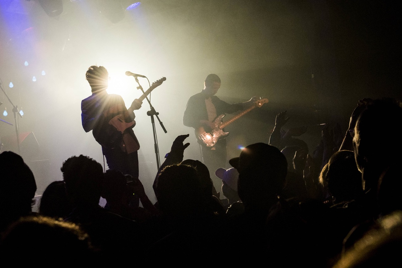 Car Seat Headrest at the Teragram Ballroom as part of Red Bull Sound Select Presents: 30 Days in LA, in Los Angeles, CA, USA 11/13/16 (Photo by Drew Gurian for Red Bull Sound Select). Used With Permission.
