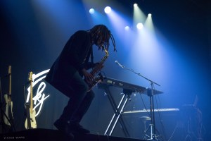 FKJ (French Kiwi Juice) @ Webster Hall 3/23/17. Photo by Vivian Wang (@Lithophyte) for www.BlurredCulture.com.