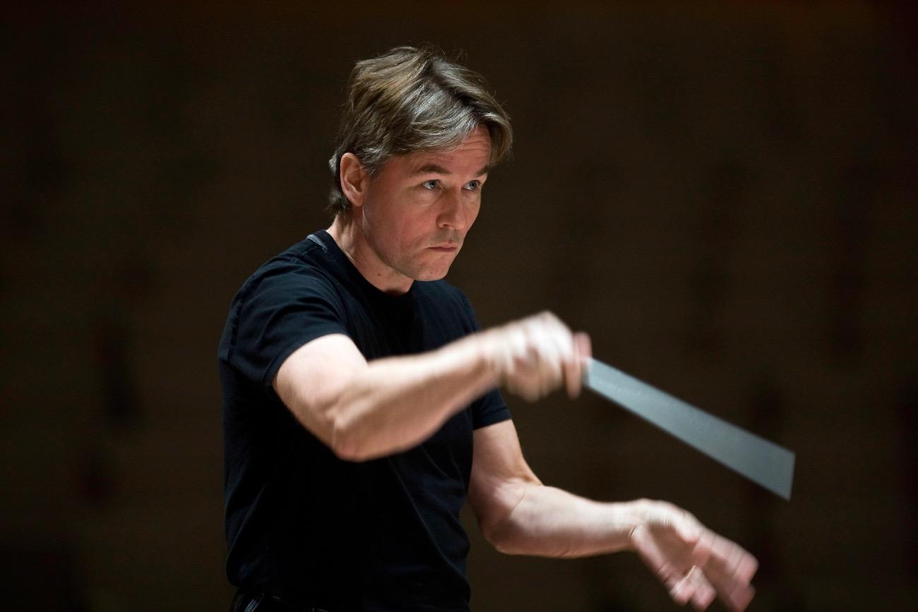 Esa-Pekka Salonen. Photo courtesy of the Los Angeles Philharmonic. Used with permission.