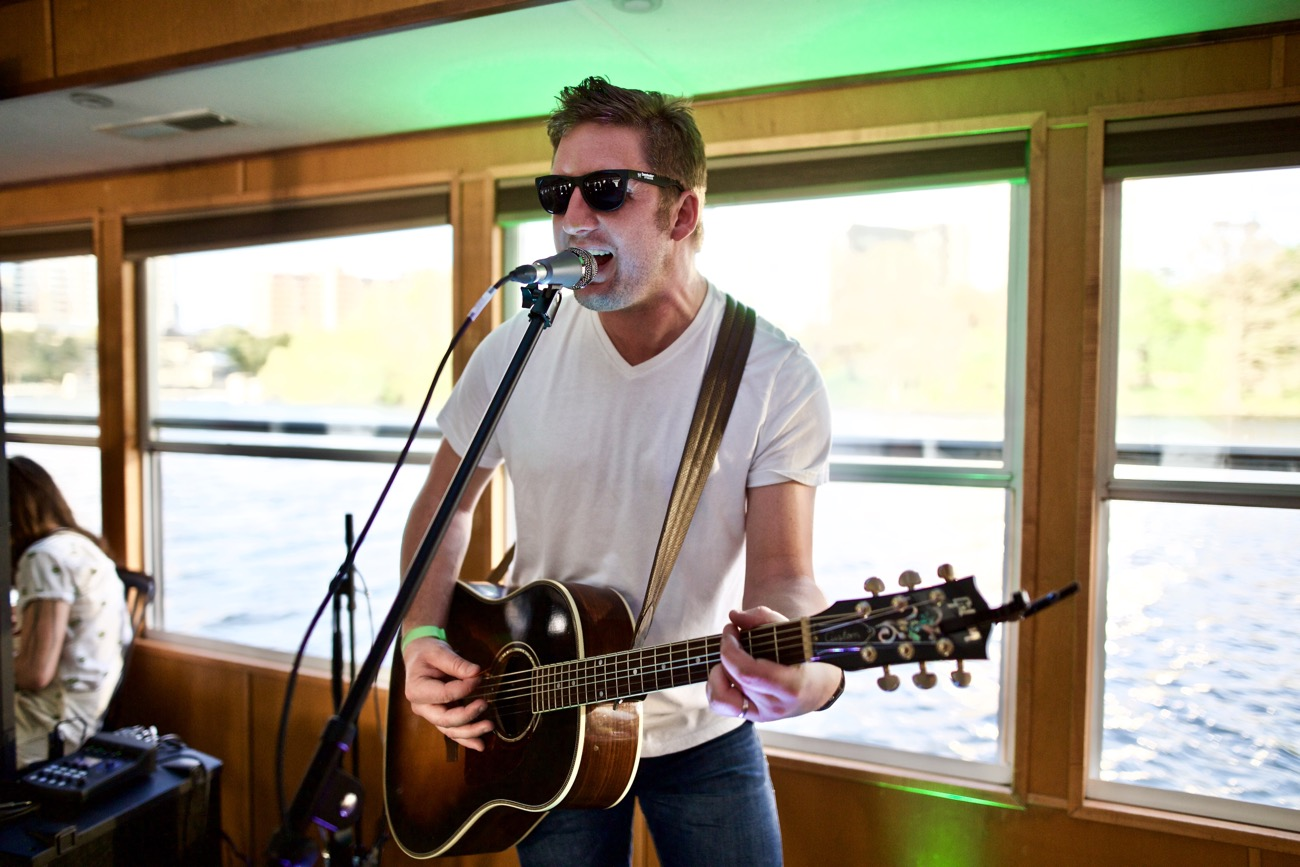 Luke Cunningham // New Nashville Riverboat Cruise // SXSW 3/16/2017. Photo by Derrick K. Lee, Esq. (@Methodman13) for www.BlurredCulture.com.
