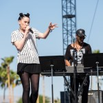 Banks and Steelz with Bishop Briggs @ Coachella 4/15/17. Photo by Erik Voake. Courtesy of Coachella. Used with permission.