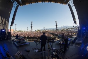 Bonobo @ Coachella 4/14/16. Photo by Roger Ho. Courtesy of Coachella. Used with permission.