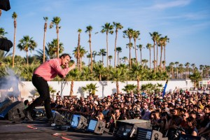 Future Islands @ Coachella 4/16/17. Photo by Charles Reagan Hackleman. Courtesy of Coachella. Used with permission.