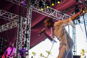 Raury @ Coachella 4/14/16. Photo by Charles Reagan. Courtesy of Coachella. Used with permission.