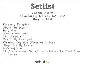 Rodney Atkins @ MuscleKingz Car Show & Concert at SilverLakes Sports Complex July 1, 2017 || Setlist