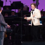 "Jonathan Groff and Gustavo Dedamel at ""Sondheim on Sondheim"" @ The Hollywood Bowl 7/23/17. Photos by Craig T. Mathew and Greg Grudt/Mathew Imaging. Used with permission."