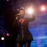 "Nona Hendryx at NPR's ""Turning The Tables"" @ Damrosch Park 7/26/17. Photo by Vivian Wang (@Lithophyte) for www.BlurredCulture.com."