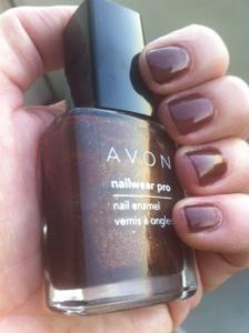 Avon Deluxe Chocolate nail polish