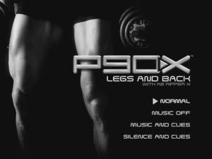 P90X Legs & Back