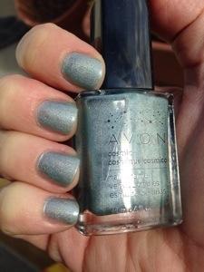 Avon Celestial nail polish swatch