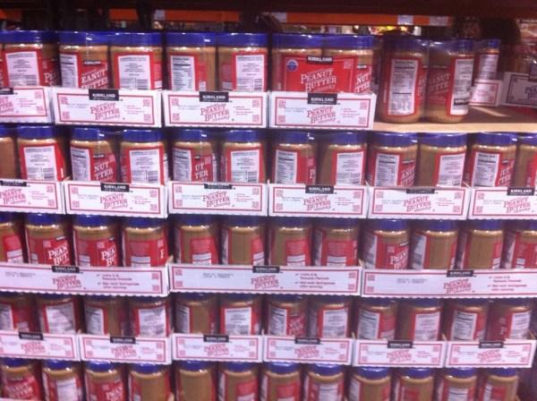 Costco Kirkland Natural Chunky peanut butter