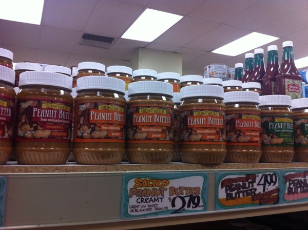 Trader Joe's natural peanut butter