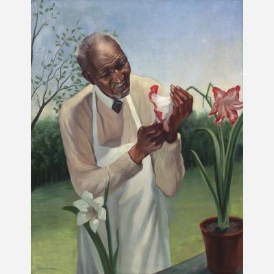 George Washington Carver, National Portrait Gallery, peanut butter is my boyfriend