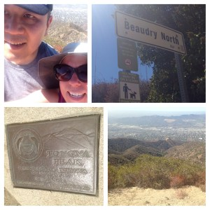 Hiking, Verdugos, Beaudry North