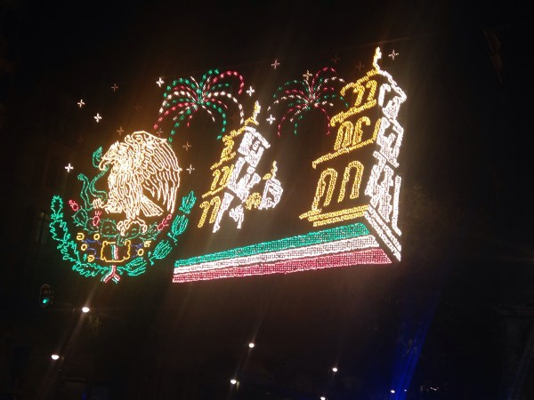 Zocalo Independence Day Lights