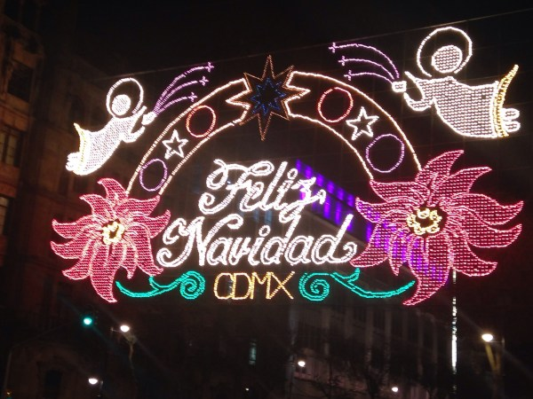 Zocalo Christmas Lights