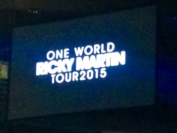 A quick autumn weekend trip to NYC to see Ricky Martin at Madison Square Garden and shopping at Cosmetic Market