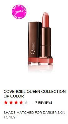 I found my perfect nude lipstick- Cover Girl's Queen Collection Lipstick in Nude Attitude