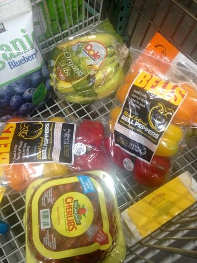 CostCo fruit and veggies