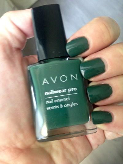 Avon Nailwear Pro Nail Enamel in Olive Green