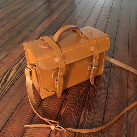 the Find - episode 1 - Vintage Full Grain Leather Camera Bag