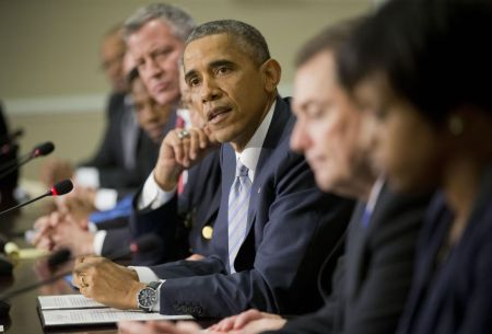 Obama at Ferguson Summitt