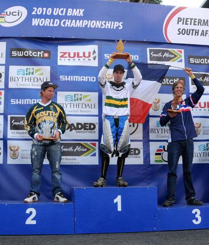 Levi Collins 2010 25-29 Mens UCI World Champion