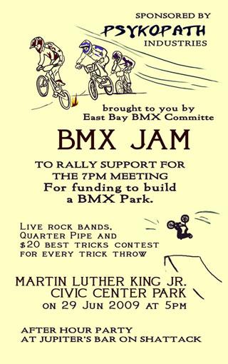 BMX Jam Berkeley CA