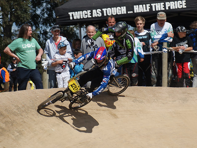 Levi Collins bmxultra.com team rider taking the win at the 2011 Cash Dash