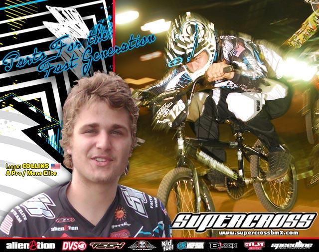 Logan Collins joins Supercross BMX