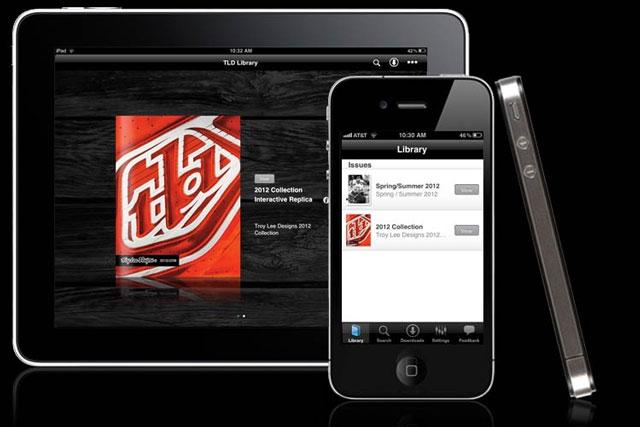 Troy Lee Designs iPhone app